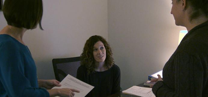 People talking in an office - careers