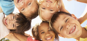 Kids Standing Above, Looking Down - Early Childhood Services